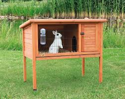 Rabbit Shack Hutch Trixie U0027s One Story Rabbit Hutch Is Ideal For Small Animals Such As