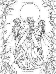 hard elf coloring pages adults 88630
