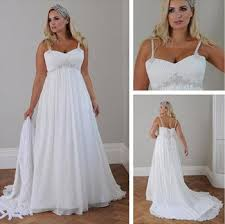 discount beach style plus size wedding dresses 2015 new sweeheart