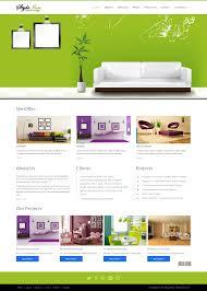 Interior Design Introduction Free Styleinn Bootstrap Interior Design Website Template Html