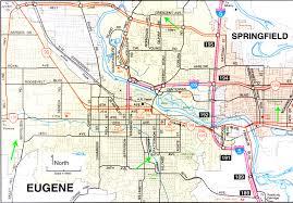 map of oregon eugene park eugene oregon