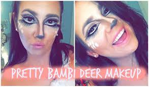 Bambi Halloween Makeup by Halloweek Pretty Bambi Deer Makeup Shaaanxo Inspired Youtube