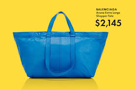 ikiea the 2 000 balenciaga ikea bag is actually awesome gq
