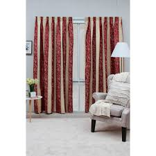 Pink Pleated Curtains Stylish Pencil Pleated Curtains For Decorative Sense