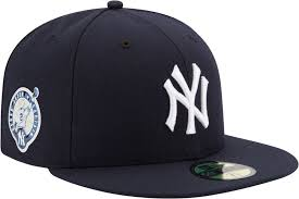 yankees hats dick s sporting goods product image new era men s new york yankees 59fifty game navy authentic hat w derek jeter jersey