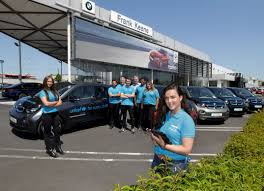 unicef ireland and frank keane bmw partner on fleet of bmw i3s