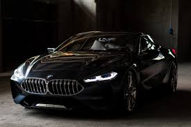 walking around the bmw concept 8 series cool hunting