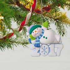 frosty decade lounging snowman ornament keepsake ornaments