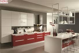Gloss Red Kitchen Doors - white kitchen cupboard ldnmen com