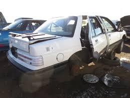 lexus junkyard fort worth junkyard find 1991 chevrolet corsica lt with iron duke power