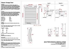 Garage Door Safety Features by Insulated Roller Garage Door Sdi Shutter Design U0026 Installation