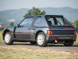 peugeot philippines rm sotheby u0027s 1984 peugeot 205 turbo 16 london 2015