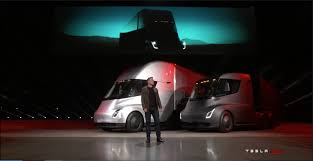 tesla debuts electric u0027beast u0027 semi truck design news
