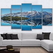 canvas prints poster wall art frame home decor 5 piece queenstown