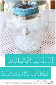 Diy Solar Light by Diy Solar Light Mason Jars U Create Diy Solar Solar Lights