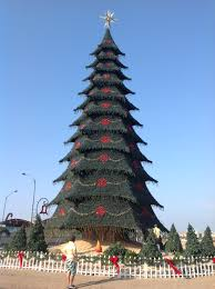 ecuador machala christmas tree world u0027s xmas trees pinterest