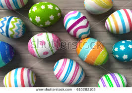 painted easter eggs for sale easter eggs background stock illustration 532747408