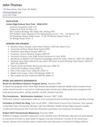 Resume Format Pdf For Experienced Teachers by Free High Resume Template Twhois Doc Student No Experience