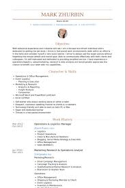 Operations Resume Examples by Logistics Manager Resume 13 Logistics Manager Resume Samples