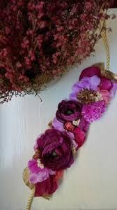 Flower Belts - lena rom er flowers studio tocados de porcelana pinterest