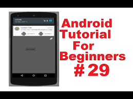 tutorial android menu bar android tutorial for beginners 29 action bar actionbar youtube