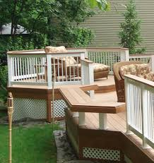 Deck In The Backyard Deck Materials Archadeck Outdoor Living