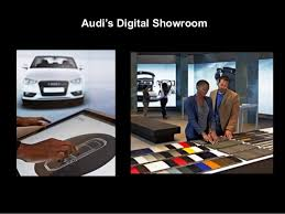 audi digital showroom digital business revolution