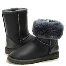 ugg s langley boots 5608 black ugg 5825 metallic boots waterproof in gray