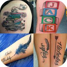 name tattoos ideas android apps on google play