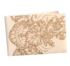 ivory wedding guest book wedding guest books wedding guest book