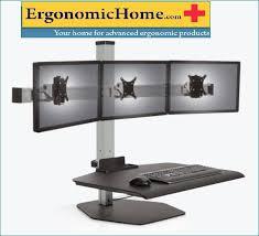 Ergotech Triple Horizontal Lcd Monitor Arm Desk Stand Monitor Stand Monitor Mount Monitor Arm Single Dual Triple