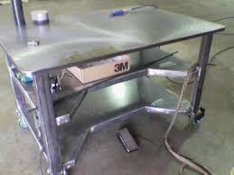 Welders Bench - welders love welding tables u2013 diy welding plans