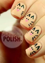 11 cute nail tutorials you won u0027t miss cat nail art cat nails