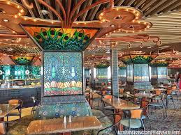 lido deck tiffany u0027s restaurant carnival cruise elation ship