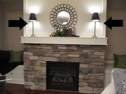 stone fireplace decorating ideas fireplace mantel decor featured