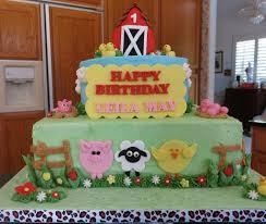 farm cake toppers farm animals birthday cake lovley cakes animal