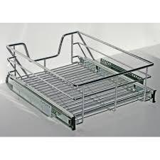 panier coulissant pour meuble de cuisine panier coulissant pour meuble de 45 cm cuisines bellissima