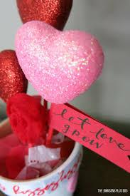 Valentine S Day Flags Diy Valentine U0027s Day Dollar Store Craft Pot Of Hearts Making