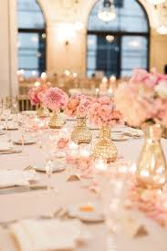 Wedding Table Centerpieces by Best 25 Blush Wedding Centerpieces Ideas Only On Pinterest