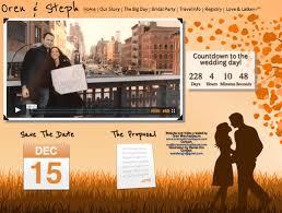 wedding registry websites 25 most creative and wonderful wedding website ideas everafterguide