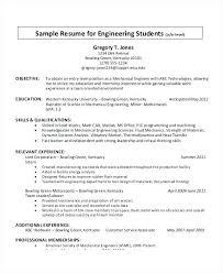 Format Of Resume For Internship Students Sample Resume For University Students Sample For University