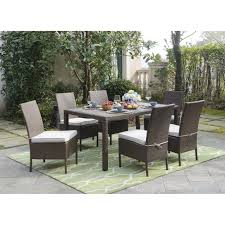 Gray Wicker Patio Furniture by Gray Wicker Dining Chairs