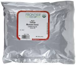 amazon com frontier mustard seed brown mustard whole certified