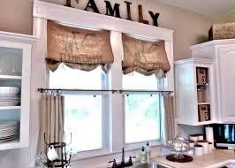 diy kitchen window treatments home decorating interior design