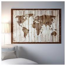 World Map Poster Ikea by