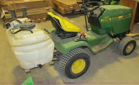 john deere 175 hydro lawn tractor item k5575 sold june