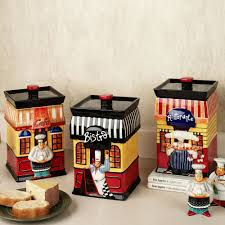 Contemporary Kitchen Canisters Chef Kitchen Decor Accessories