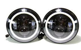 jeep lights jeep jk headlights projector halo u0026 tail lights leds 4 less