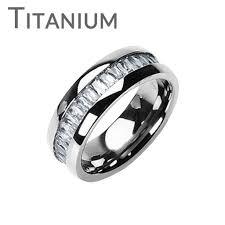 titanium band titanium on the rocks impeccable solid titanium comfort fit ring