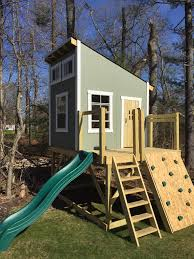 secret clubhouse plan clubhouses playhouses and porch